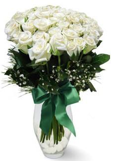 19 adet essiz kalitede beyaz gül  Gölbaşı çiçek yolla online çiçekçi , çiçek siparişi