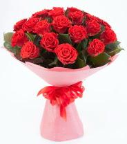 12 adet kırmızı gül buketi  Gölbaşı çiçekçi güvenli kaliteli hızlı çiçek