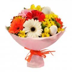 Karışık mevsim buketi Mevsimsel çiçek  Gölbaşı çiçek yolla , çiçek gönder , çiçekçi