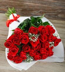 33 adet kırmızı gülün ihtişamı  Ankara Gölbaşı çiçek gönderme