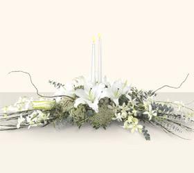 Ankara Gölbaşı çiçek gönderme  kazablanka mum tanzim