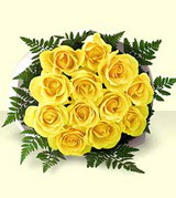 Ankara Gölbaşı çiçek gönderme  12 adet sarigül kalite buket
