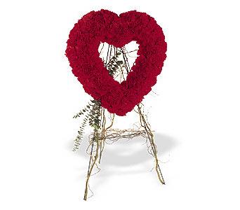 Gölbaşı çiçek siparişi yurtiçi ve yurtdışı çiçek siparişi  karanfillerden kalp pano