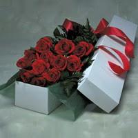 Gölbaşı ankara çiçek gönderme sitemiz güvenlidir  11 adet gülden kutu