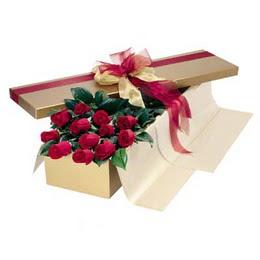 Ankara Gölbaşı çiçek gönderme  10 adet kutu özel kutu