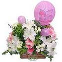 balon ve çiçeklerle tanzim  Gölbaşı çiçek siparişi yurtiçi ve yurtdışı çiçek siparişi