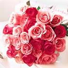 11 adet renkli gül buketi   Çiçekçi Gölbaşı çiçekçi mağazası