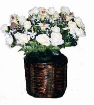 yapay karisik çiçek sepeti   Gölbaşı Ankara çiçek yolla