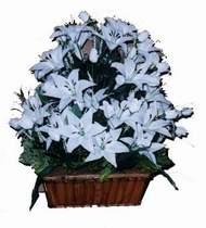 yapay karisik çiçek sepeti   Gölbaşı ankara çiçek gönderme sitemiz güvenlidir