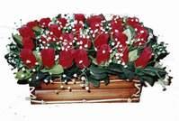 yapay gül çiçek sepeti   Ankara çiçekçi Gölbaşı İnternetten çiçek siparişi