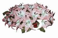 yapay karisik çiçek sepeti   Gölbaşı çiçek kaliteli taze ve ucuz çiçekler