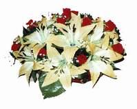 yapay karisik çiçek sepeti   Gölbaşı çiçek yolla , çiçek gönder , çiçekçi