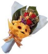 güller ve gerbera çiçekleri   Gölbaşı çiçek gönder cicekciler , cicek siparisi