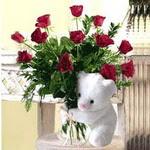 9 adet kirmizi gül    Gölbaşı çiçek online çiçek siparişi