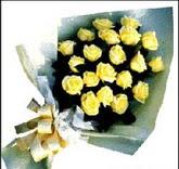 sari güllerden sade buket  Gölbaşı çiçek online çiçek siparişi