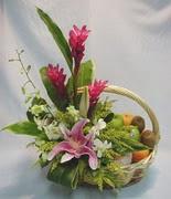 mevsim meyvalari ve sepet   Ankara Gölbaşı çiçekçi uluslararası çiçek gönderme