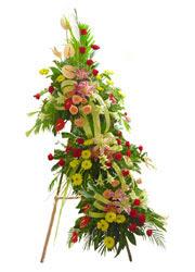 üç katli perförje çiçegi  Gölbaşı çiçek kaliteli taze ve ucuz çiçekler