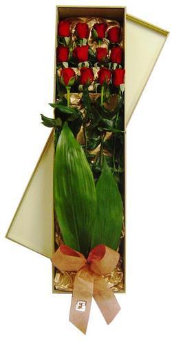 Gölbaşı çiçek kaliteli taze ve ucuz çiçekler  görsel bir kutu içerisinde 12 adet kalite gül