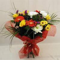ankara Gölbaşı çiçek mağazası , çiçekçi adresleri  Karisik mevsim demeti