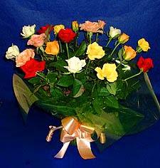 ankara Gölbaşı çiçek mağazası , çiçekçi adresleri  13 adet karisik renkli güller