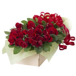 19 adet kirmizi gül buketi  çiçek siparişi Gölbaşı çiçekçiler