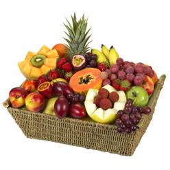 Karisik meyva sepeti  Ankara Gölbaşı çiçek gönderme