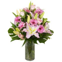 vazo içerisinde karisik mevsim çiçekleri  Gölbaşı çiçek yolla , çiçek gönder , çiçekçi