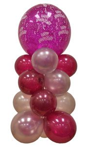 Sevdiklerinize 17 adet uçan balon demeti yollayin   Gölbaşı anneler günü çiçek yolla