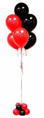 Sevdiklerinize 17 adet uçan balon demeti yollayin.   ankara Gölbaşı çiçek mağazası , çiçekçi adresleri