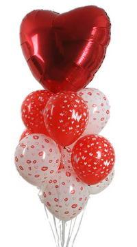 Sevdiklerinize 17 adet uçan balon demeti yollayin.   Gölbaşı çiçekçi güvenli kaliteli hızlı çiçek