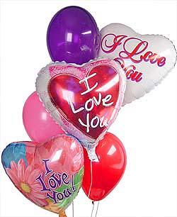 Gölbaşı çiçek siparişi yurtiçi ve yurtdışı çiçek siparişi  Sevdiklerinize 17 adet uçan balon demeti yollayin.