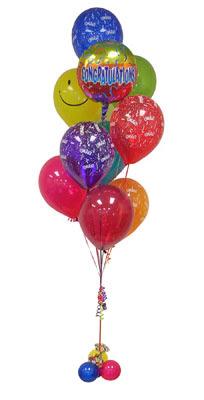 Gölbaşı çiçek gönder cicekciler , cicek siparisi  Sevdiklerinize 17 adet uçan balon demeti yollayin.