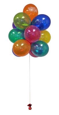Ankara Gölbaşı 14 şubat sevgililer günü çiçek  Sevdiklerinize 17 adet uçan balon demeti yollayin.
