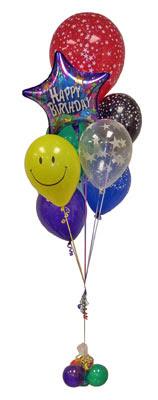 Gölbaşı çiçek online çiçek siparişi  Sevdiklerinize 17 adet uçan balon demeti yollayin.