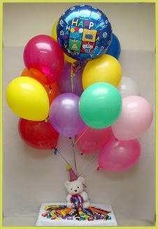 Gölbaşı çiçek kaliteli taze ve ucuz çiçekler  Sevdiklerinize 17 adet uçan balon demeti yollayin.