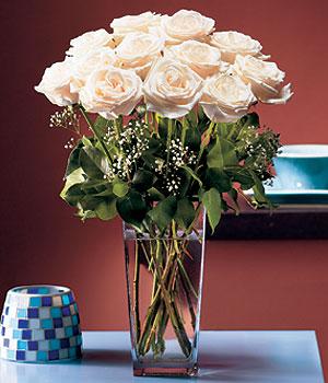 Gölbaşı ucuz çiçek gönder  Cam yada mika vazo içerisinde 12 gül