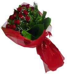 Gölbaşı çiçek gönder cicekciler , cicek siparisi  10 adet kirmizi gül demeti