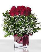 Gölbaşı çiçek online çiçek siparişi  11 adet gül mika yada cam - anneler günü seçimi -