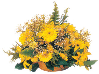 Gölbaşı anneler günü çiçek yolla  karisik mevsim sepeti - mevsimsel çiçekler