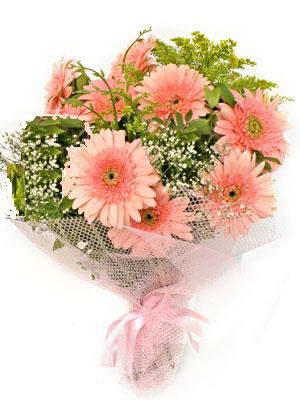 Ankara Gölbaşı hediye sevgilime hediye çiçek  11 adet gerbera çiçegi buketi