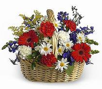 Çiçekçi Gölbaşı çiçekçi mağazası  Karisik mevsim çiçek sepeti