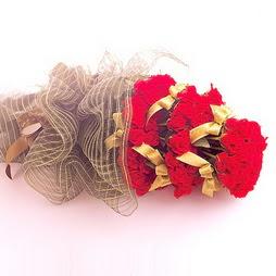 Gölbaşı Ankara çiçek yolla  41 adet kirmizi gül buketi - essiz buket