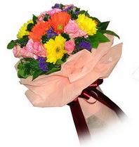 Gölbaşı çiçek kaliteli taze ve ucuz çiçekler  Karisik mevsim çiçeklerinden demet
