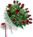 Gölbaşı çiçek siparişi yurtiçi ve yurtdışı çiçek siparişi  11 adet kirmizi gül buketi sade ve hos sevenler