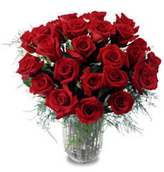 Gölbaşı çiçek gönder cicekciler , cicek siparisi  11 adet kirmizi gül cam yada mika vazo içerisinde