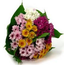 Gölbaşı anneler günü çiçek yolla  Karisik kir çiçekleri demeti herkeze