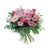 karisik kir çiçek demeti  Ankara Gölbaşı hediye sevgilime hediye çiçek