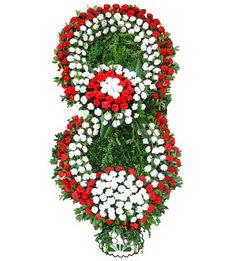 Görsel Cenaze çiçek , cenaze çiçek , çelengi  Gölbaşı çiçekçi telefonları