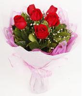 9 adet kaliteli görsel kirmizi gül  Ankara Gölbaşı 14 şubat sevgililer günü çiçek