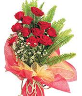 11 adet kaliteli görsel kirmizi gül  Ankara Gölbaşı hediye sevgilime hediye çiçek